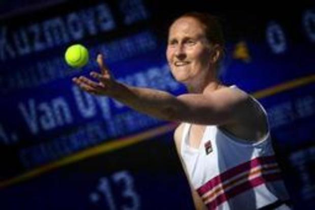 Alison Van Uytvanck moet koffers pakken op US Open
