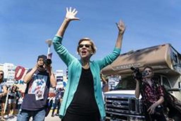PRÉSIDENTIELLE AMÉRICAINE - Primaire démocrate: la sénatrice américaine Warren derrière le favori Biden