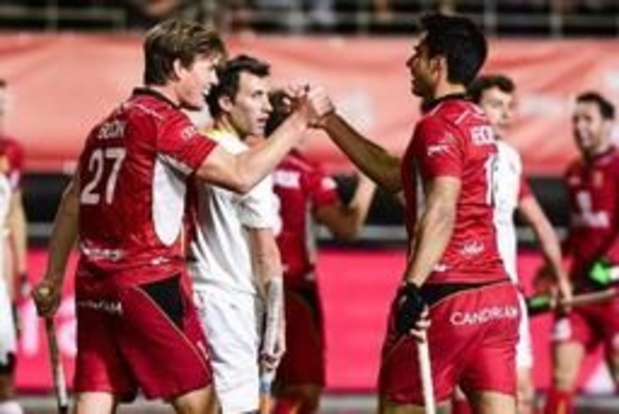 Hockey Pro League - Red Lions weer leider na 7-3 zege tegen Spanje