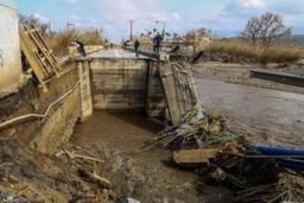 État d'urgence en Crète en raison de fortes pluies et d'inondations