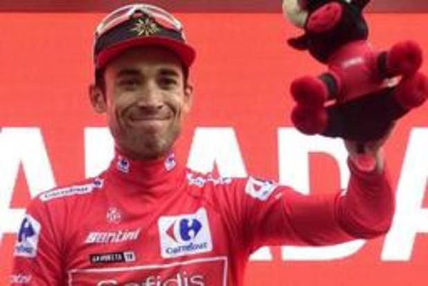 Tour d'Espagne - Nicolas Edet prend le maillot rouge à Igualada comme Bernard Hinault en 1978