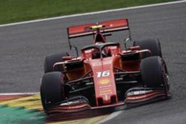 Leclerc verovert in Spa-Francorchamps eerste GP-zege