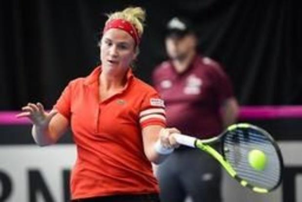 Ysaline Bonaventure éliminée au 1er tour des qualifications à Roland-Garros