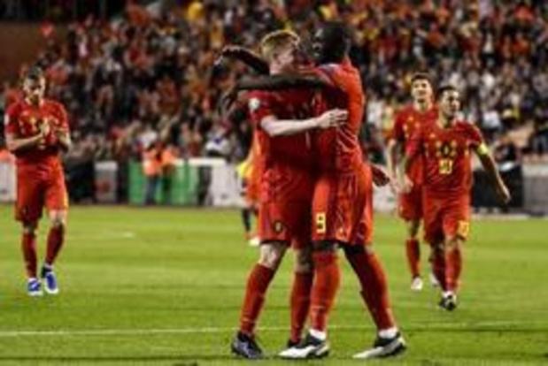 Rode Duivels voor de zevende keer op rij bovenaan FIFA-ranking