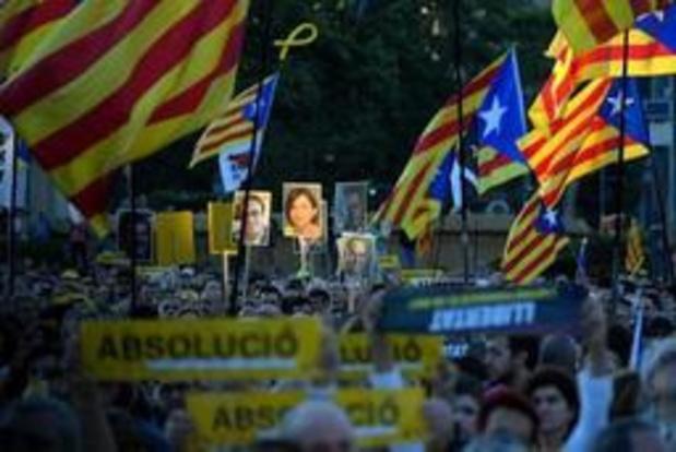 Proces tegen Catalaanse separatisten - Proces tegen Catalaanse separatisten afgelopen, ten vroegste eind juli verdict