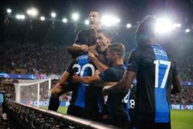 Champions League - Club Brugge mag opnieuw meedansen op het kampioenenbal