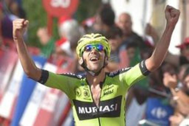 """Mikel Iturria: """"Ouvrir mon palmarès sur la Vuelta, c'est un rêve"""""""