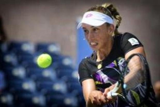 Elise Mertens ne compte pas se mettre de pression avant son 8e de finale contre Ahn