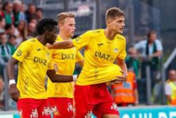 KV Oostende haalt 6 op 6 na zege tegen Cercle Brugge, draw in KV Kortrijk-Charleroi