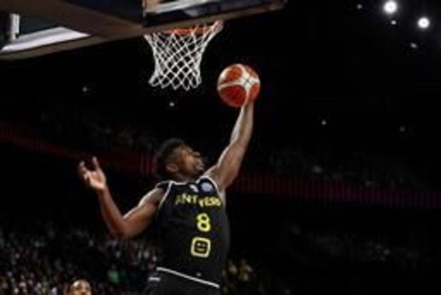 EuroMillions Basket League - Anvers gagne à Alost et se rapproche à un point d'Ostende