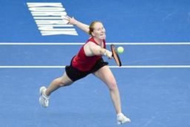 Alison Van Uytvanck overleeft eerste ronde