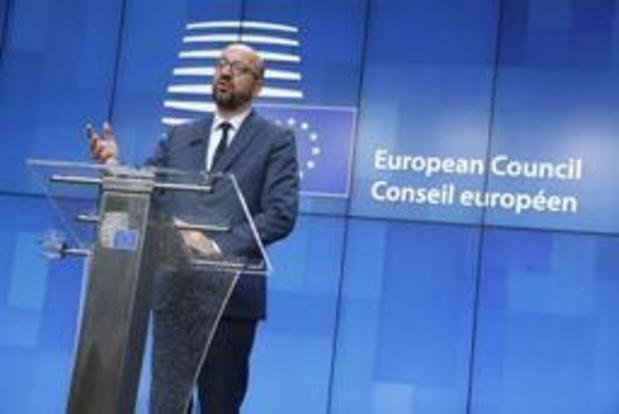 A l'Europe, Charles Michel se présente comme un faiseur de compromis