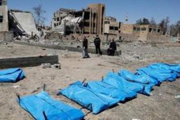 Nieuw massagraf met bijna 200 doden ontdekt in Syrië