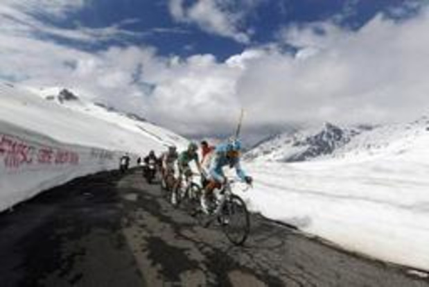 Giro - Organisatoren schrappen Gavia uit koninginnenetappe