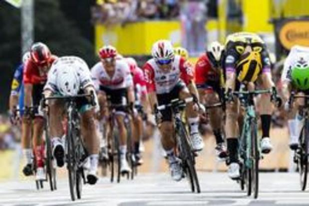"""Tour de France - Peter Sagan heeft er vertrouwen in: """"Dit is nog maar de eerste etappe"""""""