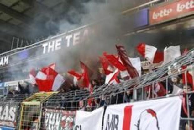 Les chants offensants et insultants de ses supporters coûtent 7.000 euros au Standard