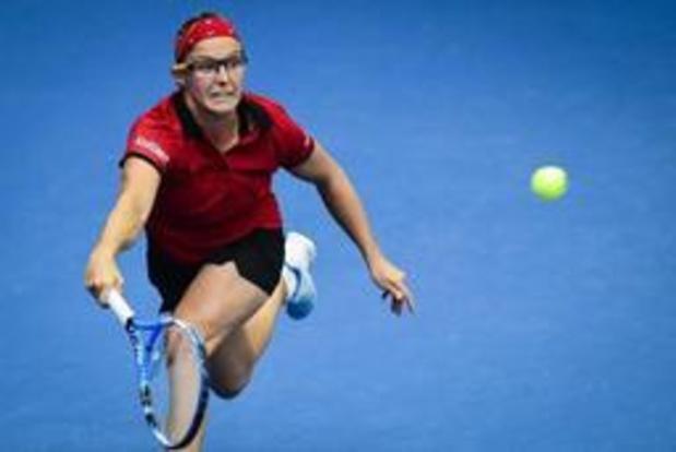WTA Rosmalen - Kirsten Flipkens sneuvelt in kwartfinales