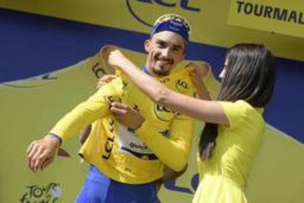 """Tour de France - Alaphilippe: """"Hoe dichter bij Parijs, hoe meer ik aan eindzege denk"""""""