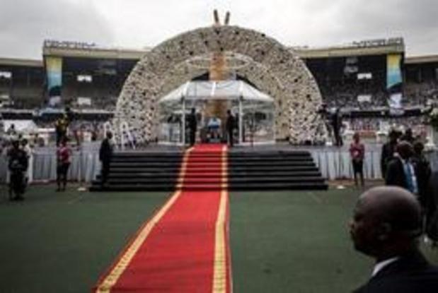 Tienduizenden Congolezen nemen afscheid van Tshisekedi