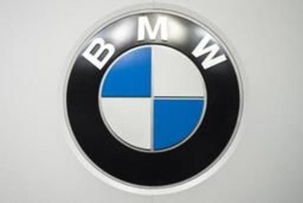 BMW va supprimer des milliers d'emplois, pas d'impact en Belgique