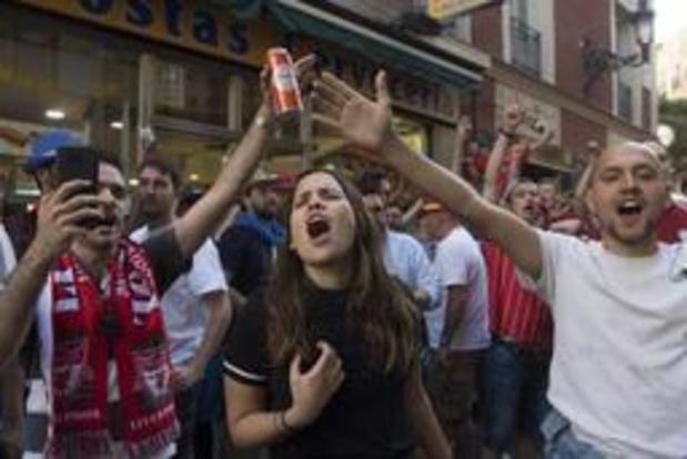 70.000 Britse fans in Madrid voor finale