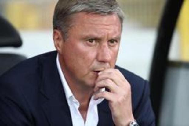 Nederlaag tegen Club Brugge kost Dinamo Kiev-coach Aleksandr Khatskevich de kop