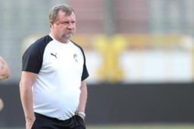 Europa League - Battu 1-0 par l'Antwerp, l'entraîneur du Viktoria Plzen se veut confiant en vue du retour