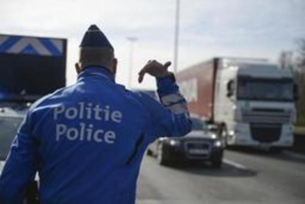 Derde van vrachtwagens in overtreding bij Benelux-controle
