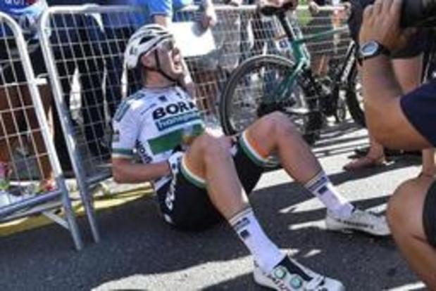 Tour d'Espagne - Sam Bennett (Bora-Hansgrohe) content de sa victoire malgré des tensions avec son équipe