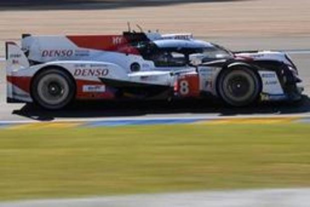 24 Heures du Mans: la Toyota d'Alonso, Buemi et Nakajima s'impose comme en 2018. Stoffel Vandoorne finit 3e