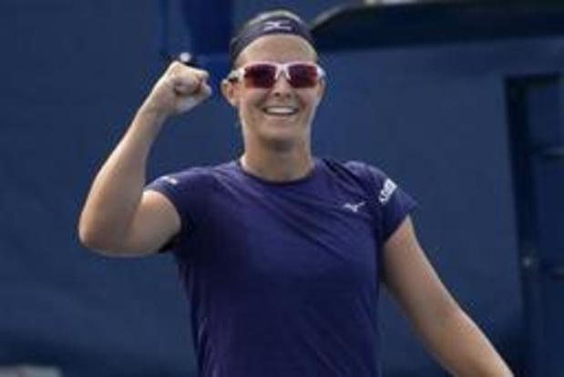 US Open - Kirsten Flipkens naar tweede ronde gemengd dubbel