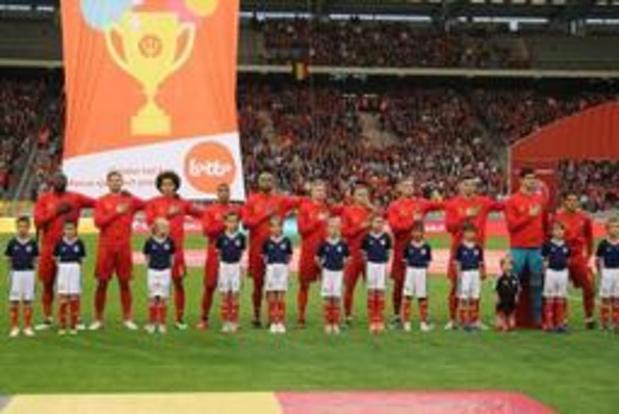 Les Diables Rouges creusent l'écart en tête du classement mondial