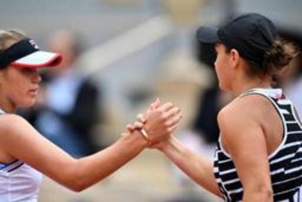WTA Toronto - 's werelds nummer een Ashleigh Barty meteen uitgeschakeld