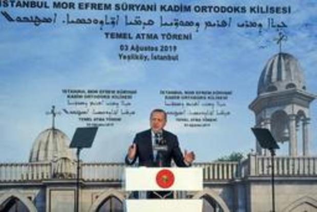 Voor eerst in moderne Turkije wordt nieuwe kerk gebouwd