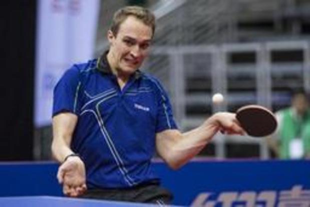 Chinees Open tafeltennis - Cédric Nuytinck grijpt naast plaats op hoofdtabel