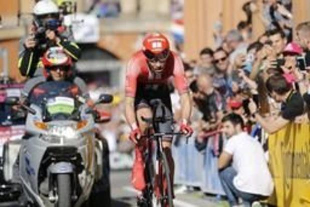 Tour d'Italie - Tom Dumoulin, 5e, a tout donné dans le chrono de Bologne