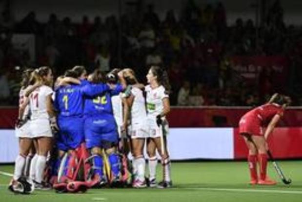 Euro 2019 de hockey - Les Red Panthers, battues 0-1 par l'Espagne, sont privées des demi-finales