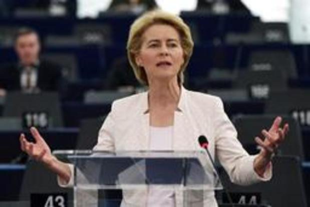La plupart des députés S&D et Renew Europe soutiendront von der Leyen