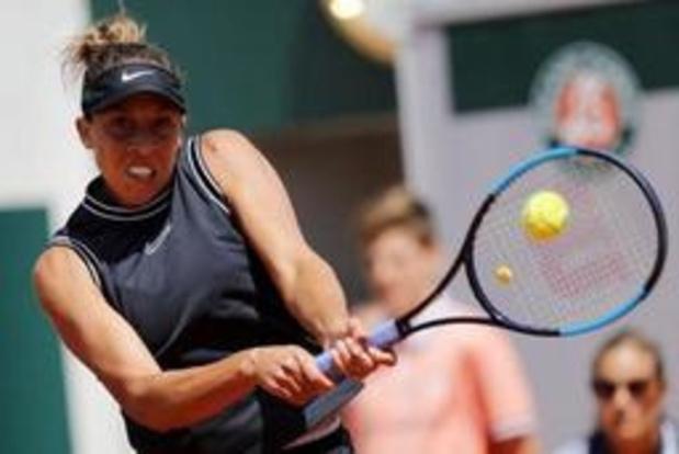 WTA Cincinnati - Madison Keys steekt titel op zak