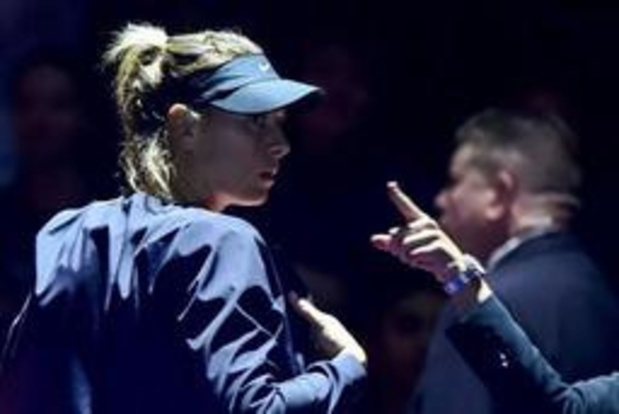 Après cinq mois d'absence, Maria Sharapova va faire sa rentrée