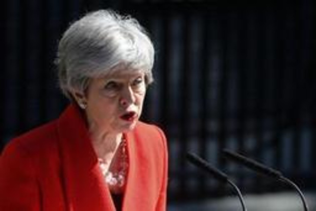 May heeft officieel ontslag ingediend als voorzitter van Conservatives
