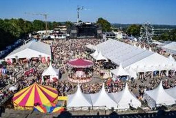 Les Solidarités ont totalisé plus de 60.000 entrées à Namur