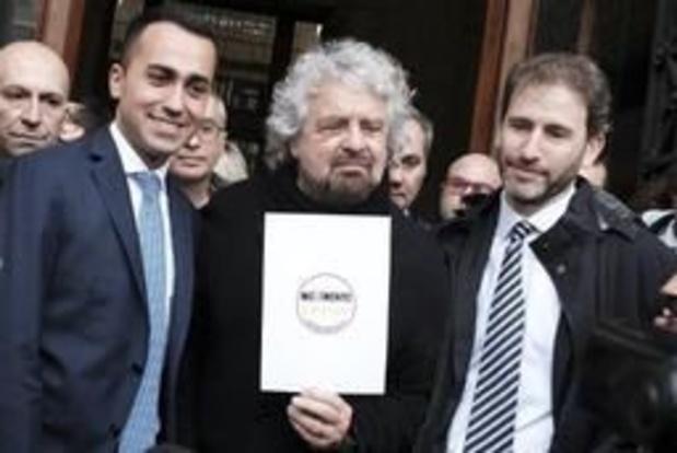 50.000 euros d'amende infligée à la plate-forme internet du Mouvement 5 Etoiles