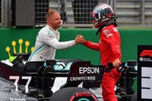 Valtteri Bottas verovert pole F1 voor GP van Groot-Brittannië