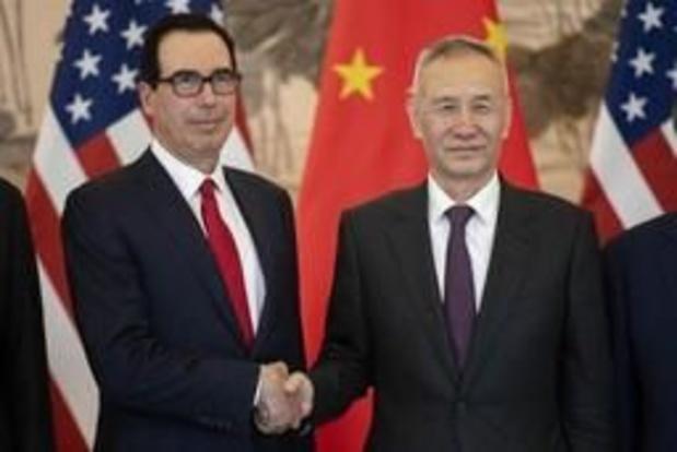 """Onderhandelingen tussen China en VS verlopen """"constructief"""" maar leveren niets op"""