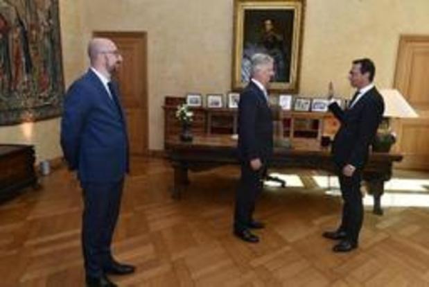 Wouter Beke (CD&V) prête serment et entre dans le gouvernement fédéral