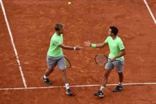 Roland-Garros - Les Allemands Kevin Krawietz et Andreas Mies remportent le double messieurs