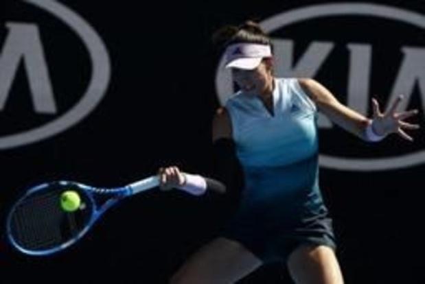 WTA Monterrey - Titelverdedigster Muguruza is de eerste finaliste