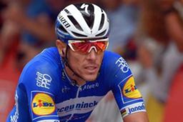 """Vuelta - Philippe Gilbert na negende plaats: """"We wilden de rit winnen met Knox"""""""