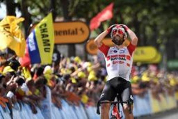"""Tour de France - De Gendt na tweede Belgische ritzege: """"Geweldige benen, maar zoveel pijn"""""""